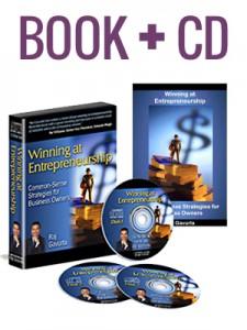 Winning at Entrepreneurship Autographed Book Copy & Audio CD Set by Raj Gavurla