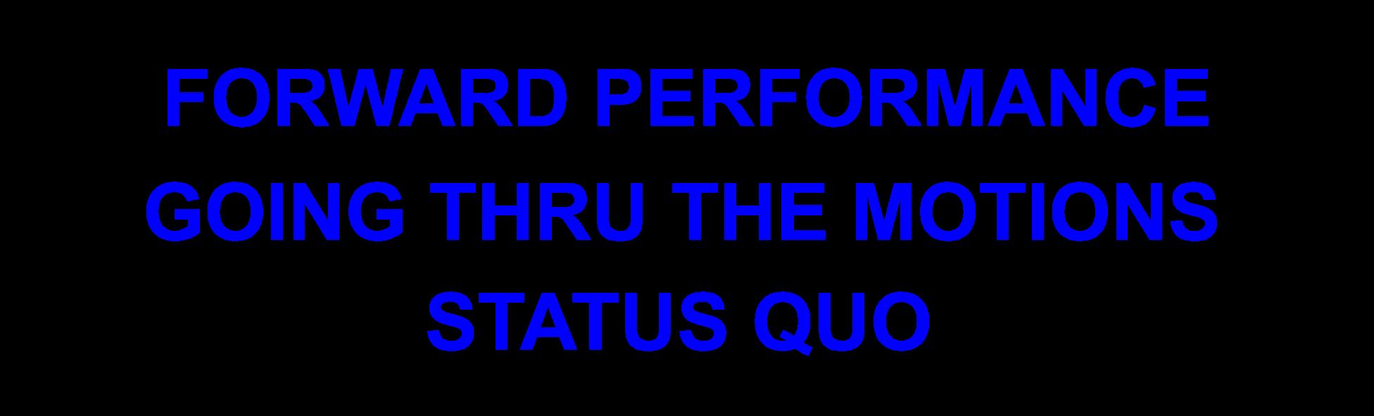 forward performance