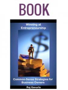 Winning at Entrepreneurship Autographed Book by Raj Gavurla