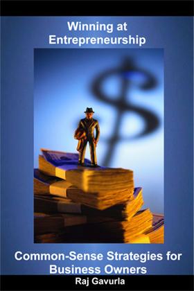 Winning At Entrepreneurship Book by Raj Gavurla