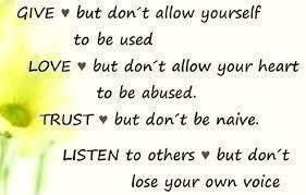 give love trust listen
